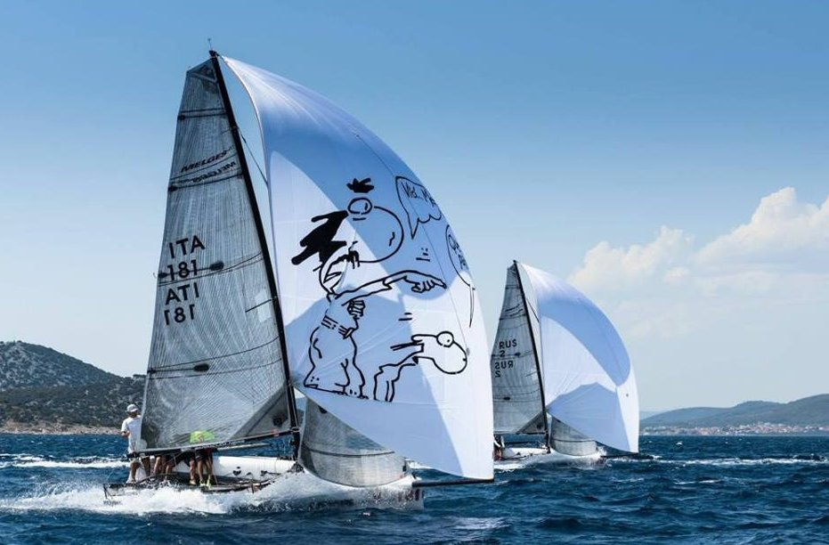 Melges 20 Team management