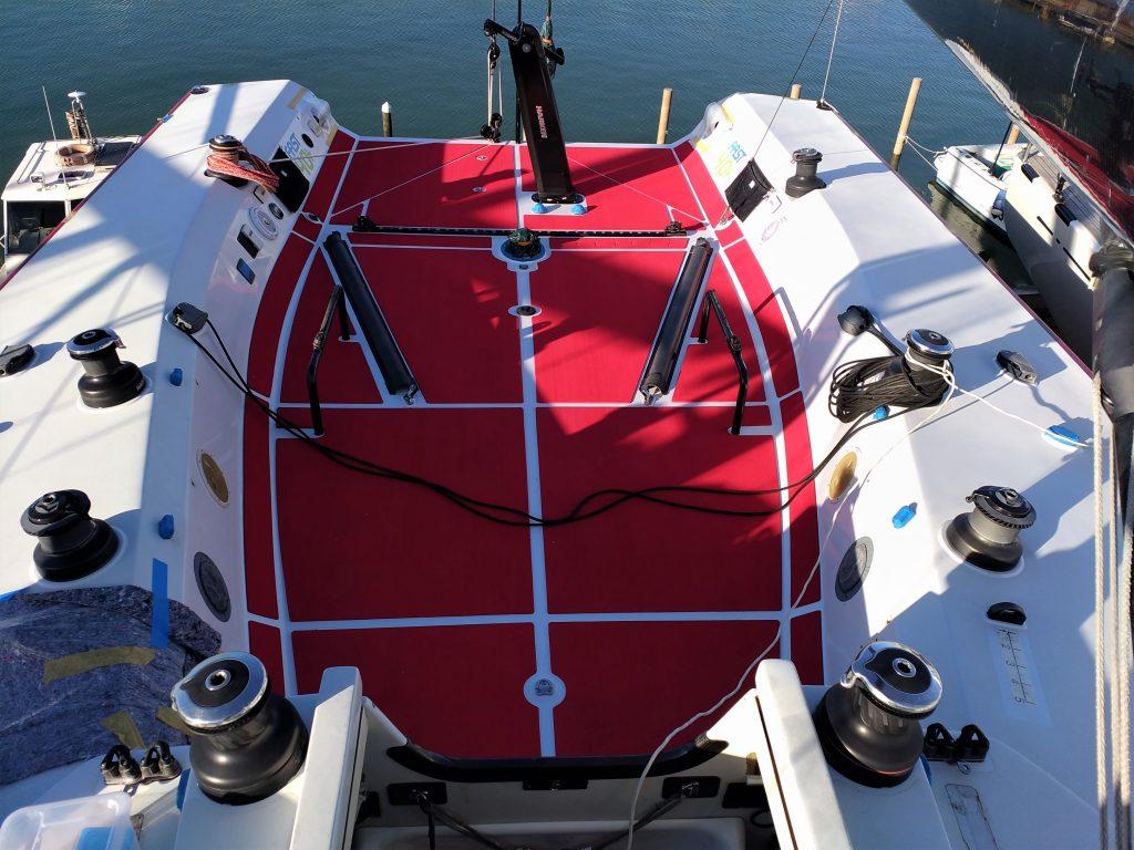 antiscivolo autoadesivo per barche SeaDek su Ker 40+