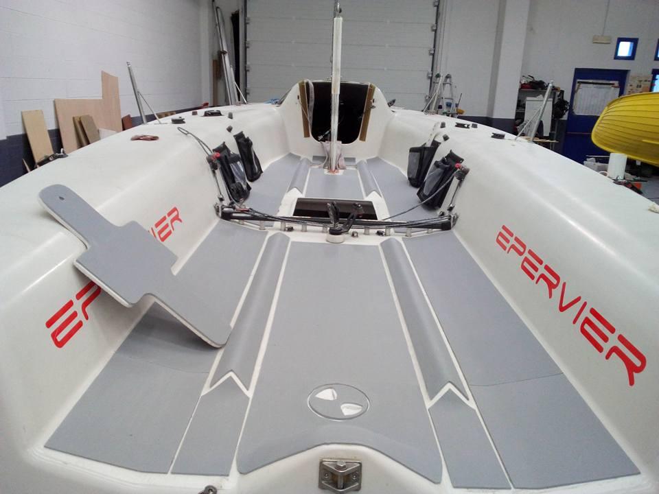 Antiscivolo per la nautica Seadek su Melges 24