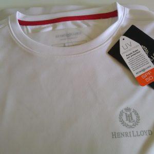 Henri lloyd fast dri silver mono t-shirt