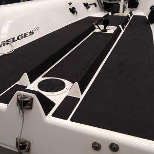 tappetino antiscivolo per barche seadek nero