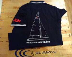 Divise equipaggio polo personalizzata regata h22