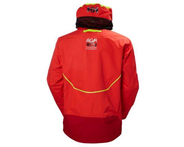 giacca da vela helly hansen aegir race rossa
