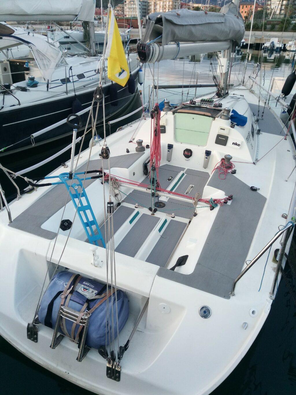 seadek antiscivolo per barche a vela su figaro 1