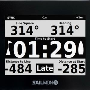 Sailmon Max strumento GPS per regate e barche a vela